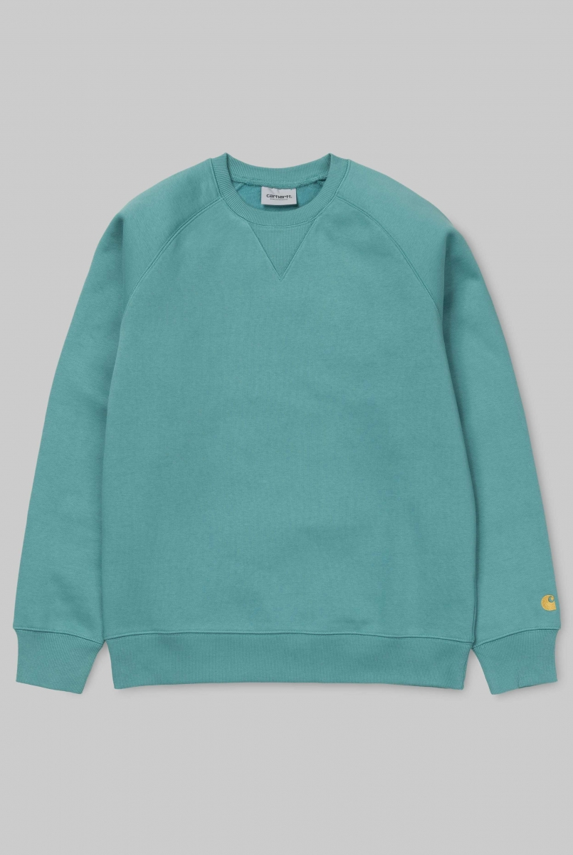 CHASE SWEAT | SOFT TEAL