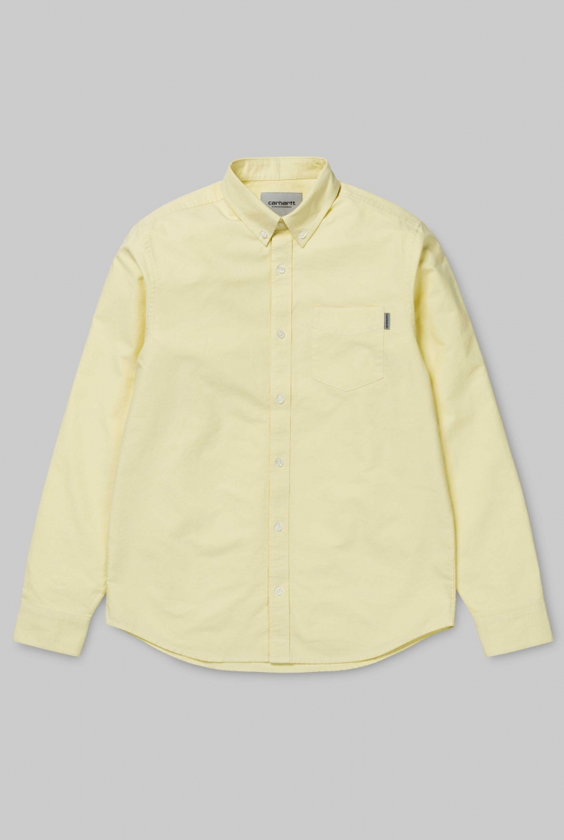LS BUTTON DOWN | CITRINE