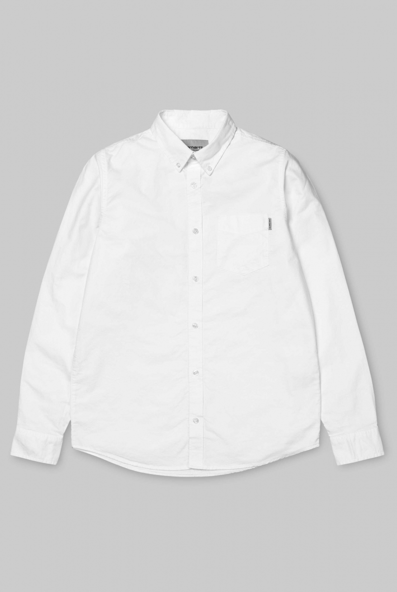 LS BUTTON DOWN | WHITE