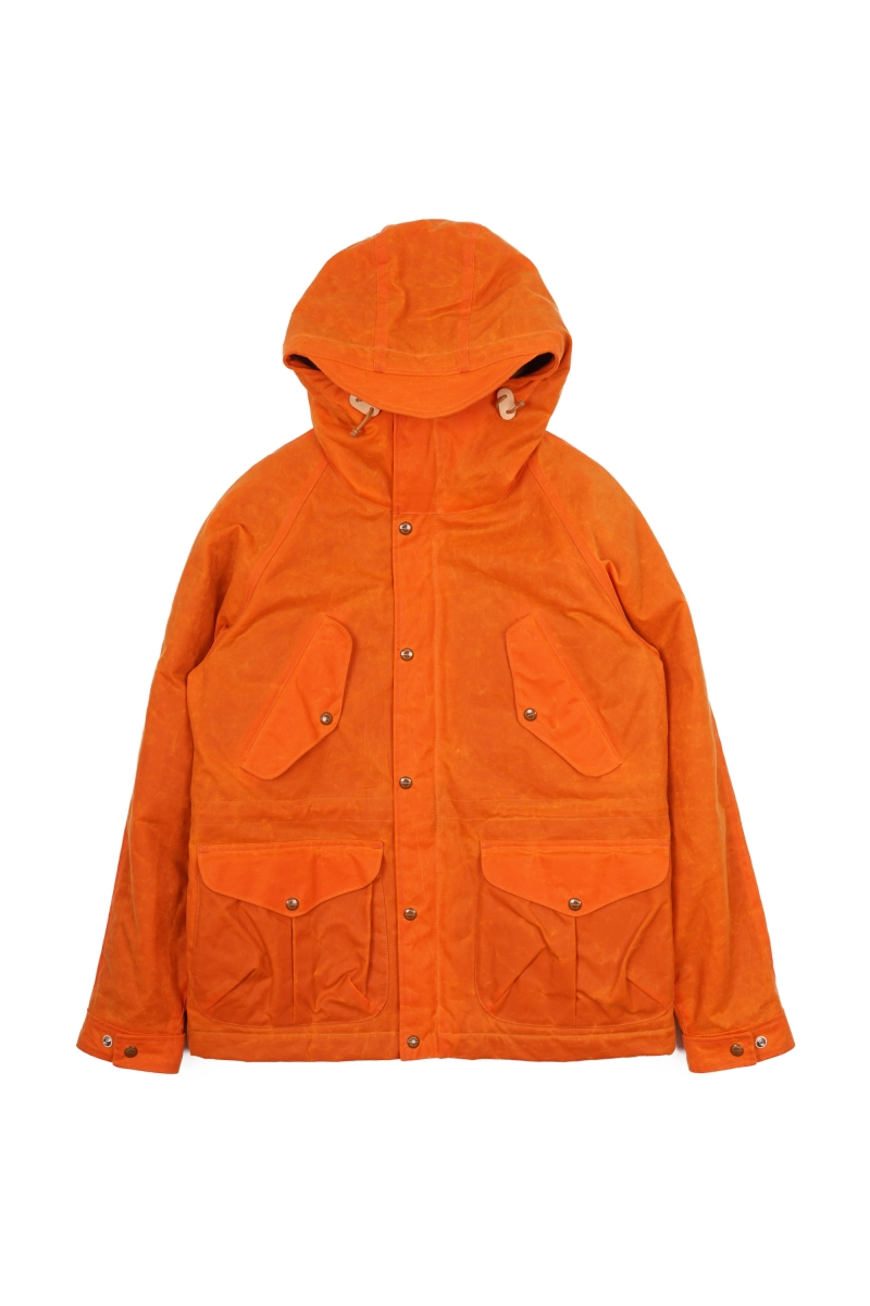 FISHERMAN PARKA | ORANGE