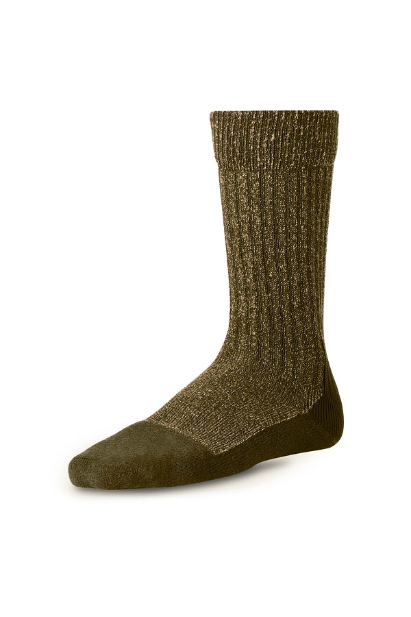 ACRYLIC WOOL SOCKS | 97178 OLIVE