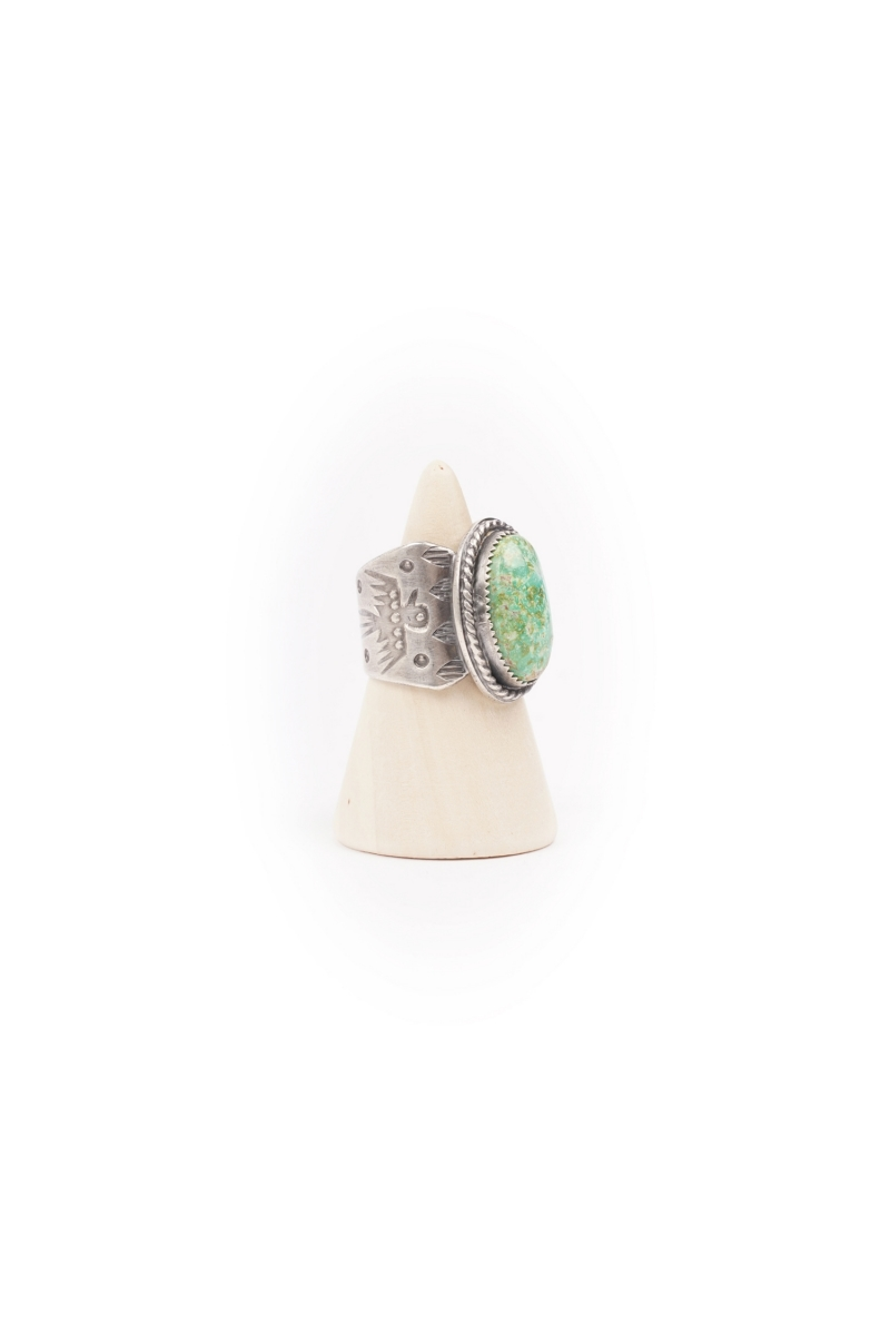 OVAL RING | HAPPY
