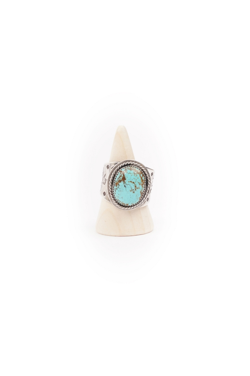 OVAL RING | TURQUOISE MOUNTAIN