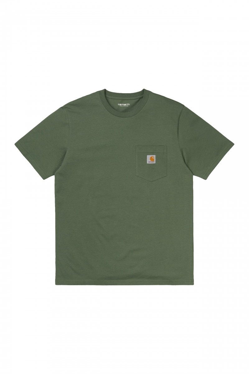 S/S POCKET | DOLLAR GREEN