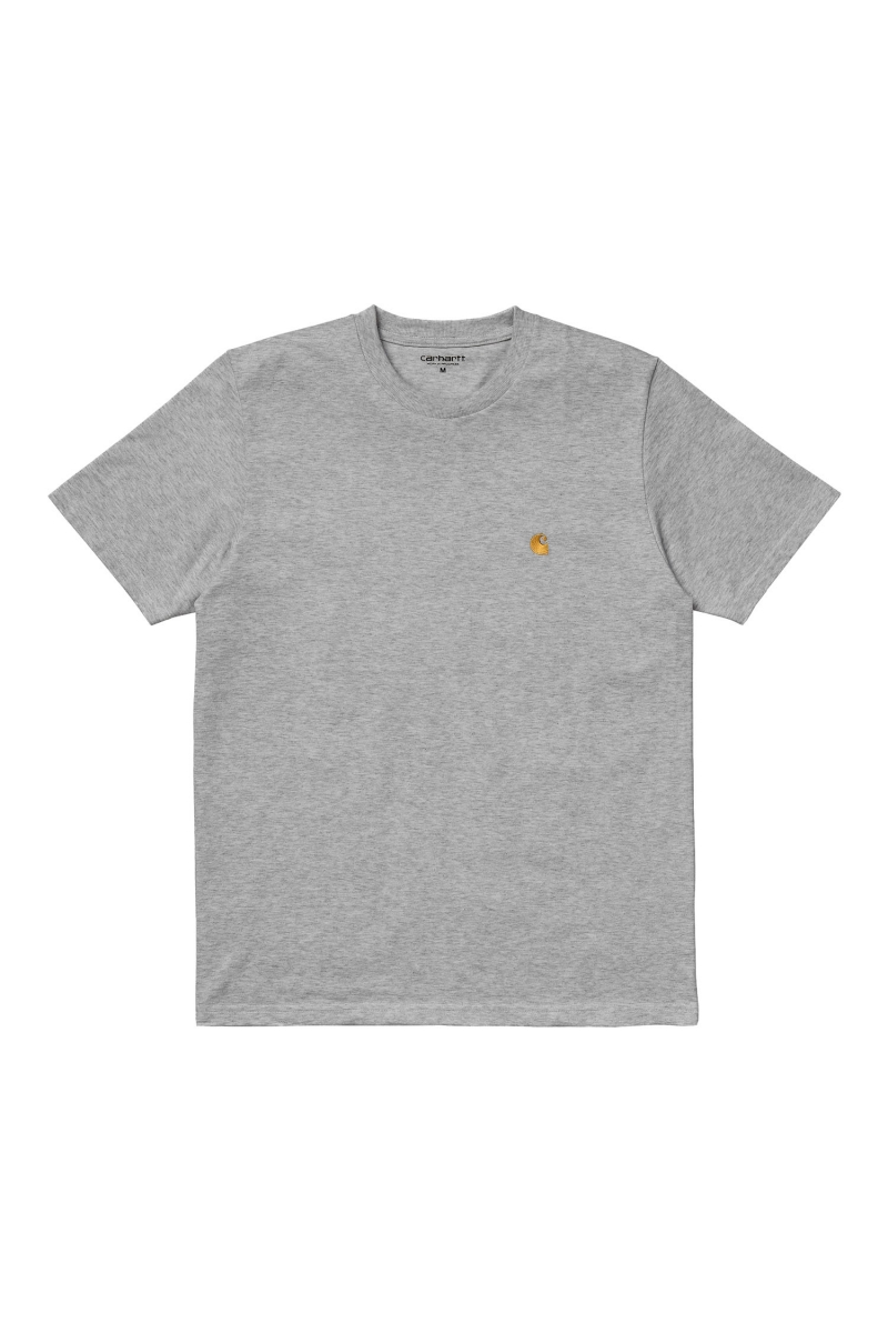 CHASE TEE | GREY HEATHER