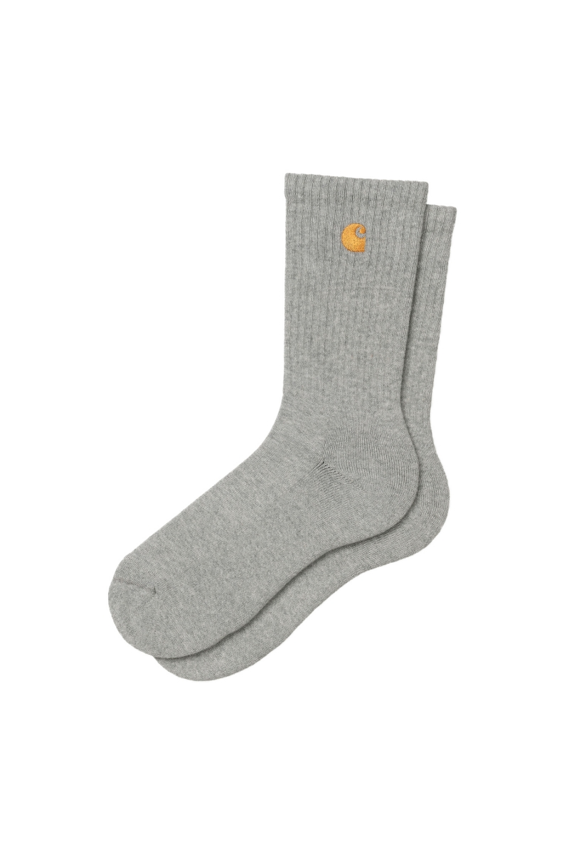 CHASE SOCKS | GREY HEATHER