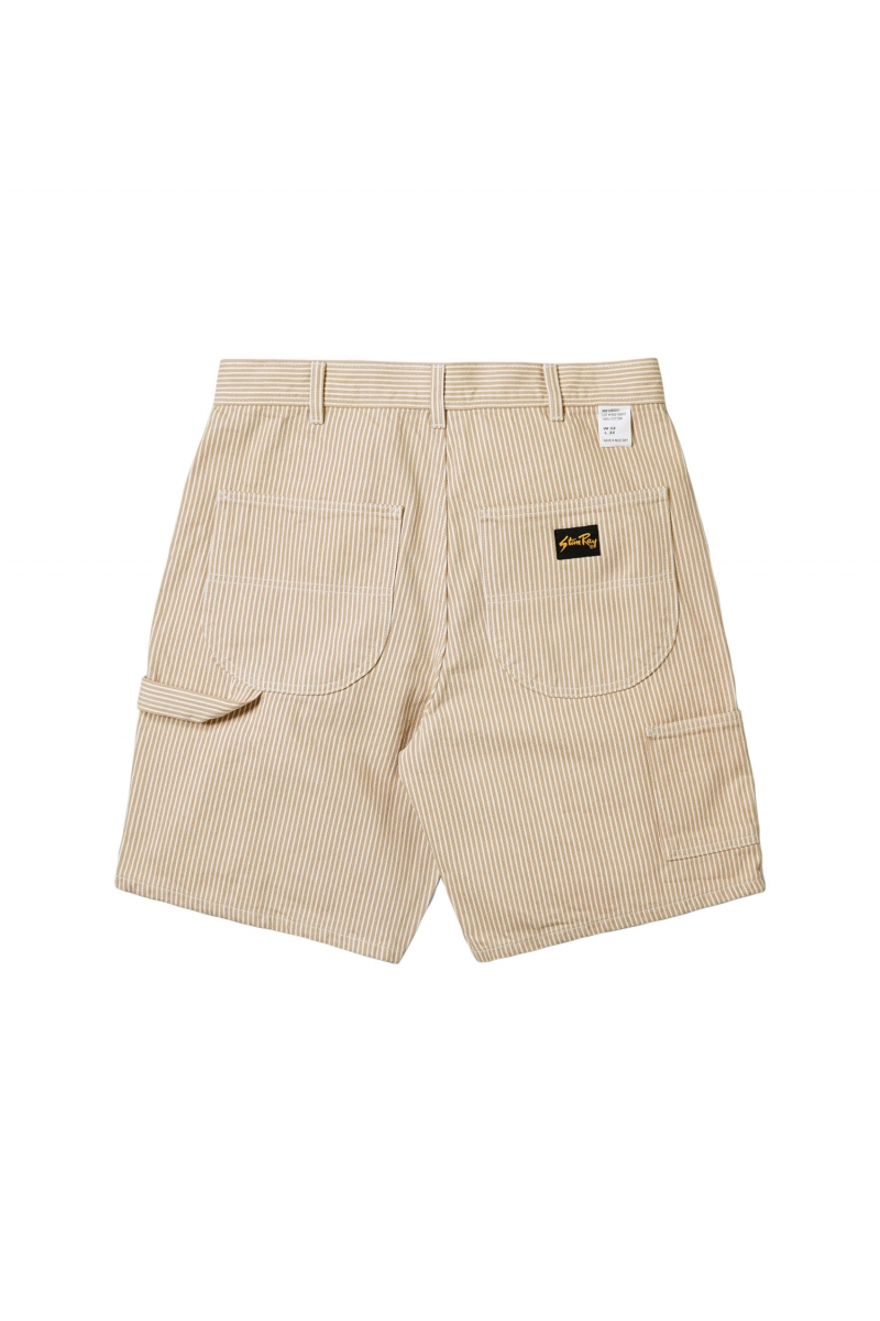 PAINTER SHORT | KHAKI HICKORY