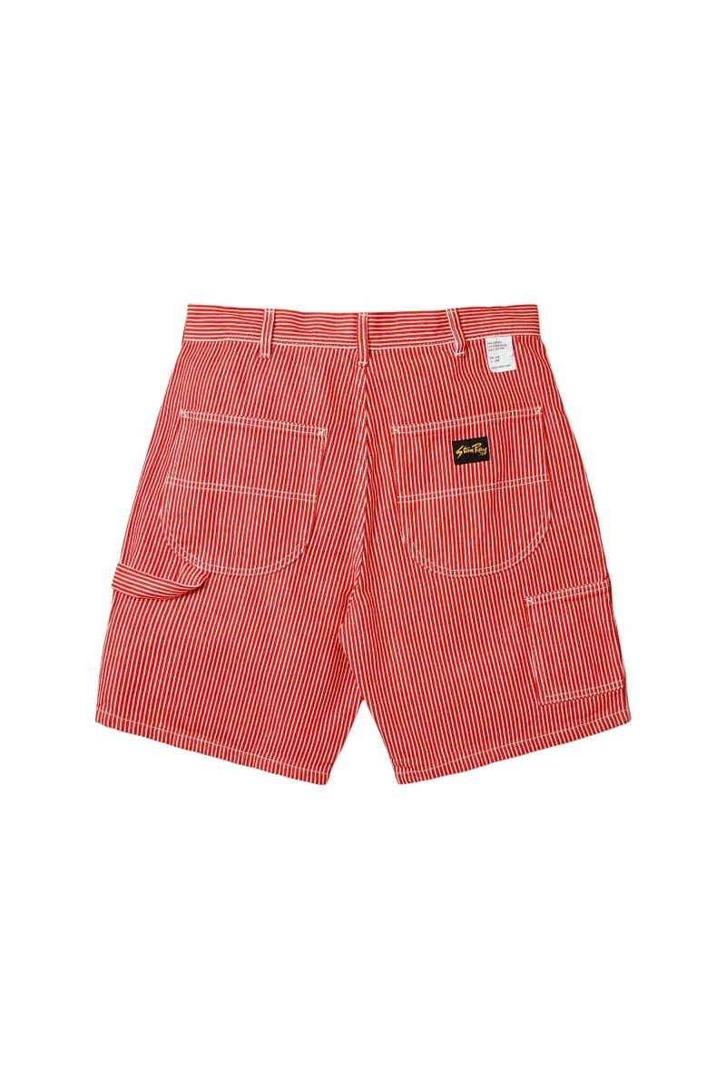 PAINTER SHORT | RED HICKORY
