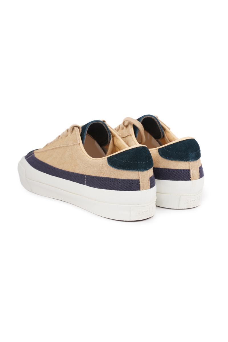 BELTED LOW SUEDE | M020 NAVY
