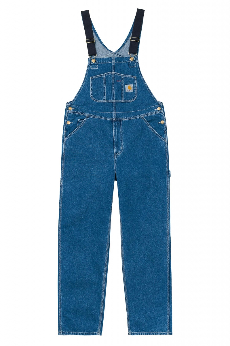 BIB OVERALL | BLUE STONE WASHED
