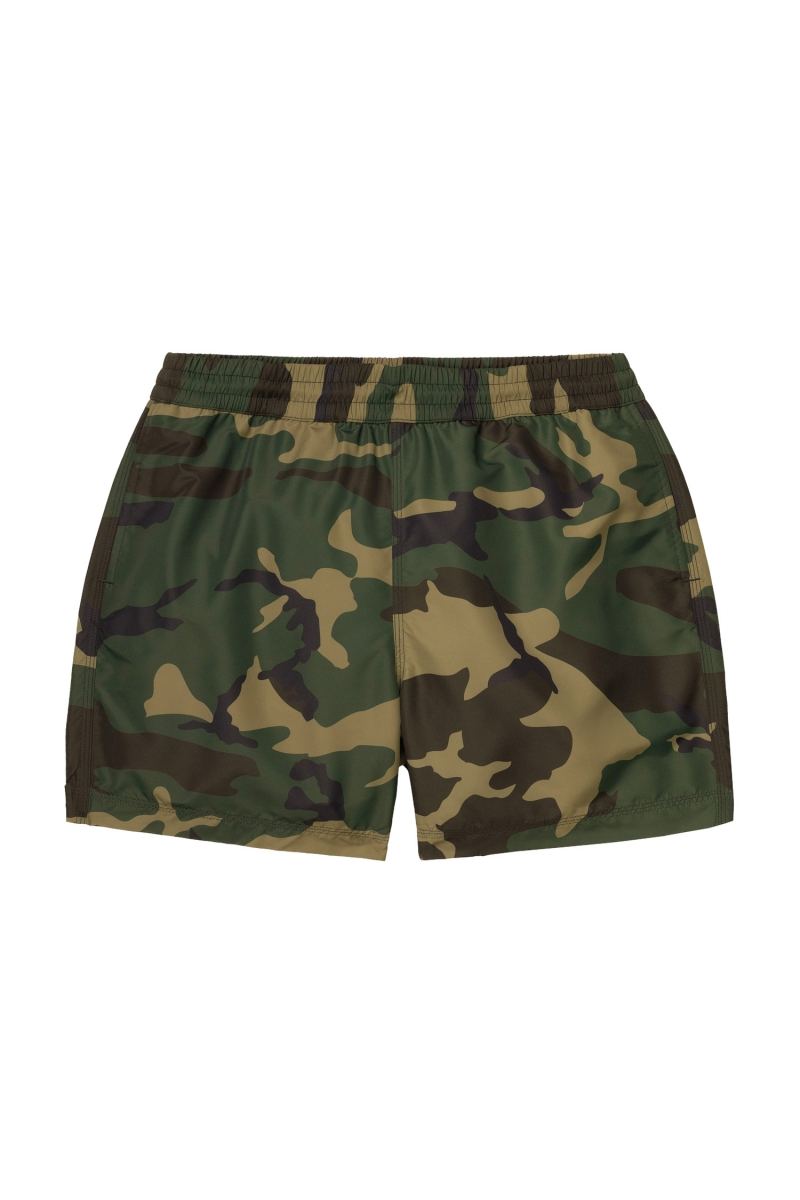 DRIFT SWIM TRUNK | CAMO LAUREL