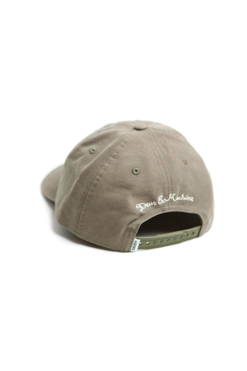 AUTOMATICA CAP | WASHED OLIVE