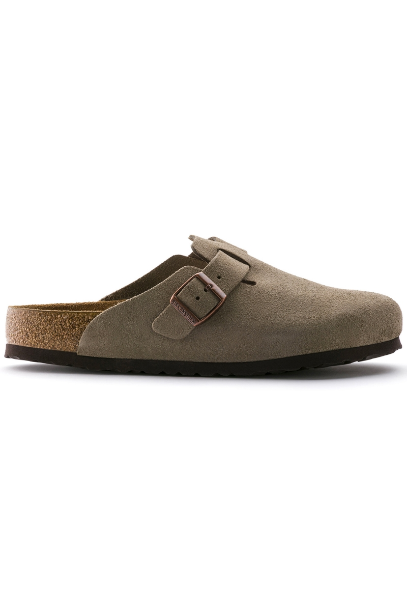 BOSTON SOFT FOOTBED | TAUPE