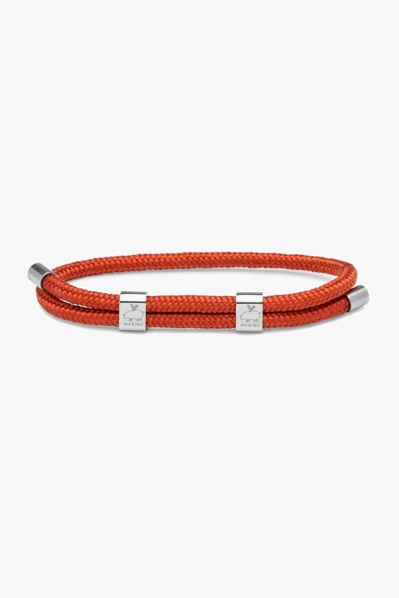 LITTLE LEWIS DOUBLE | CORAL RED SILVER