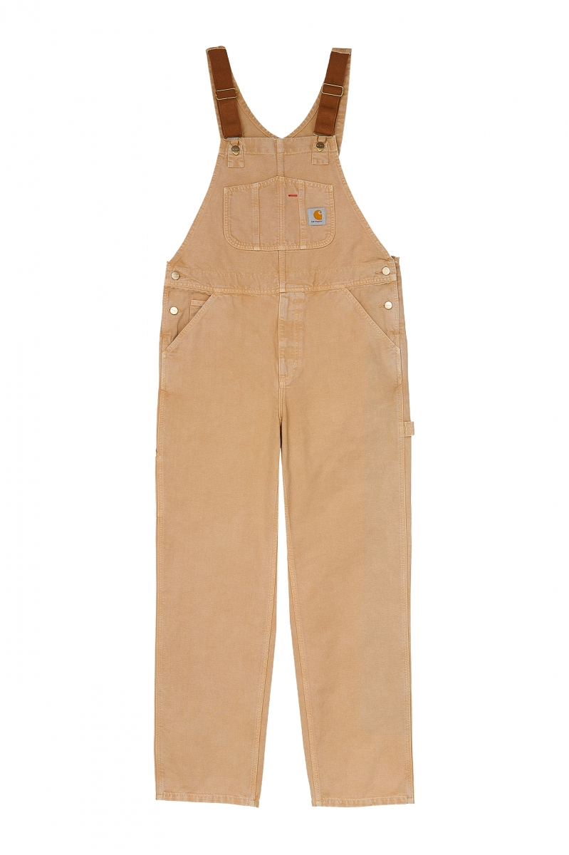 BIB OVERALL | DUSTY H BROWN