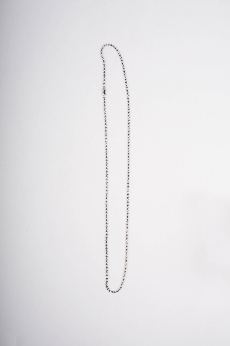 BALL CHAIN | STERLING SILVER