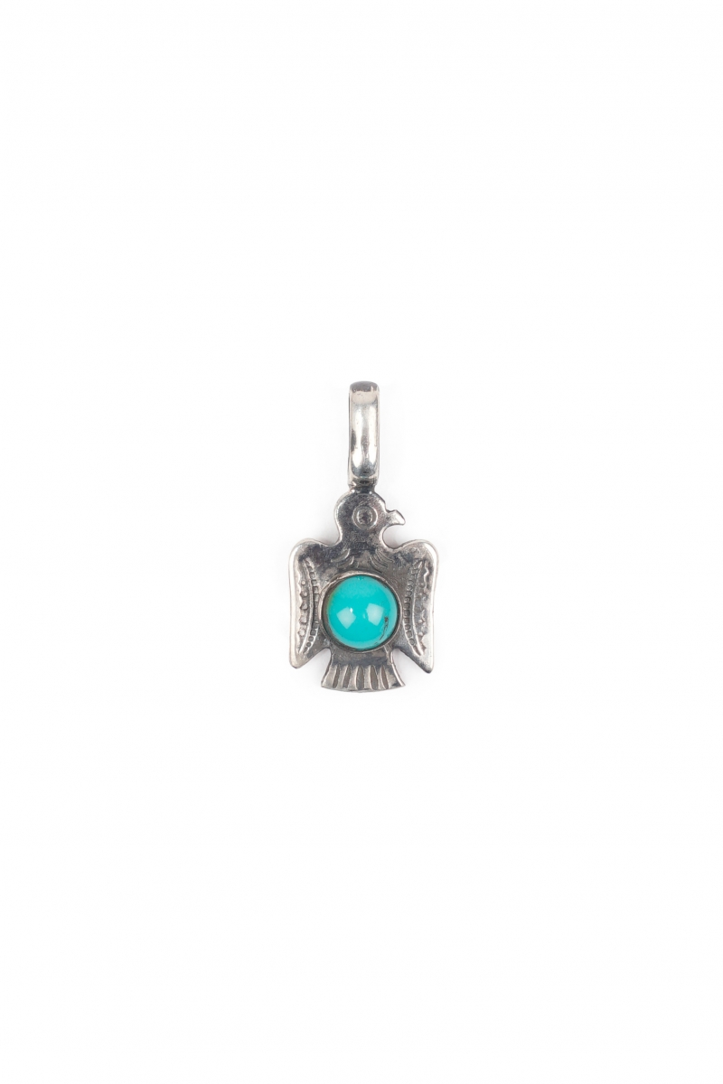 BIRD CHARM | SILVER TURQUOISE