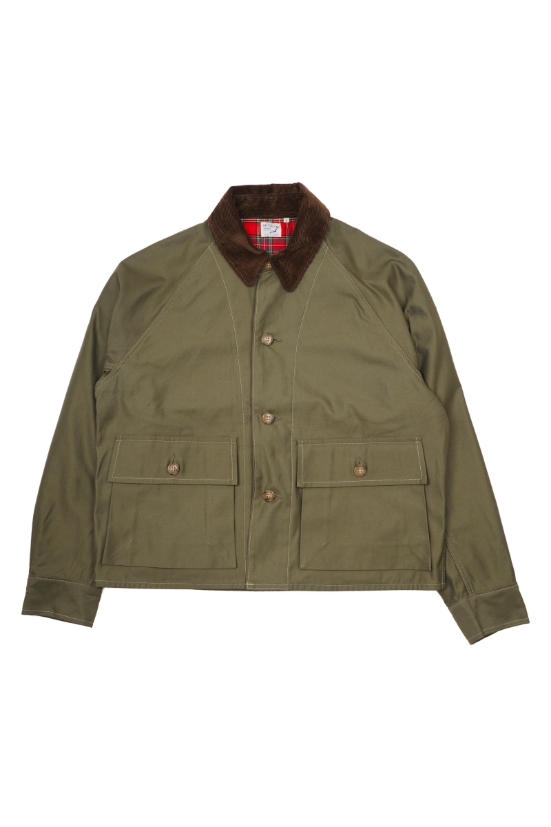COVERALL CHECK LINER | ARMY GREEN CHECK