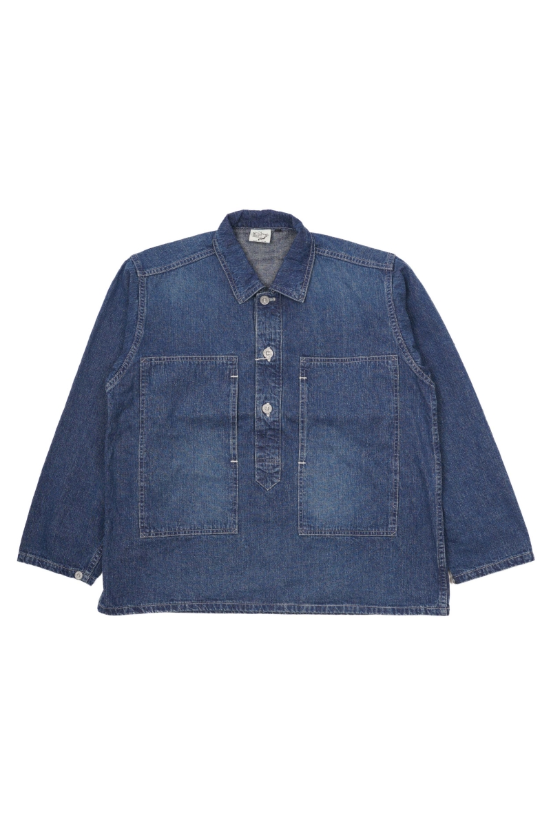 PW PULLOVER SHIRT | DENIM USED