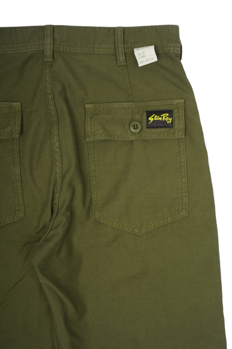 FATIGUE PANT | OLIVE SATEEN