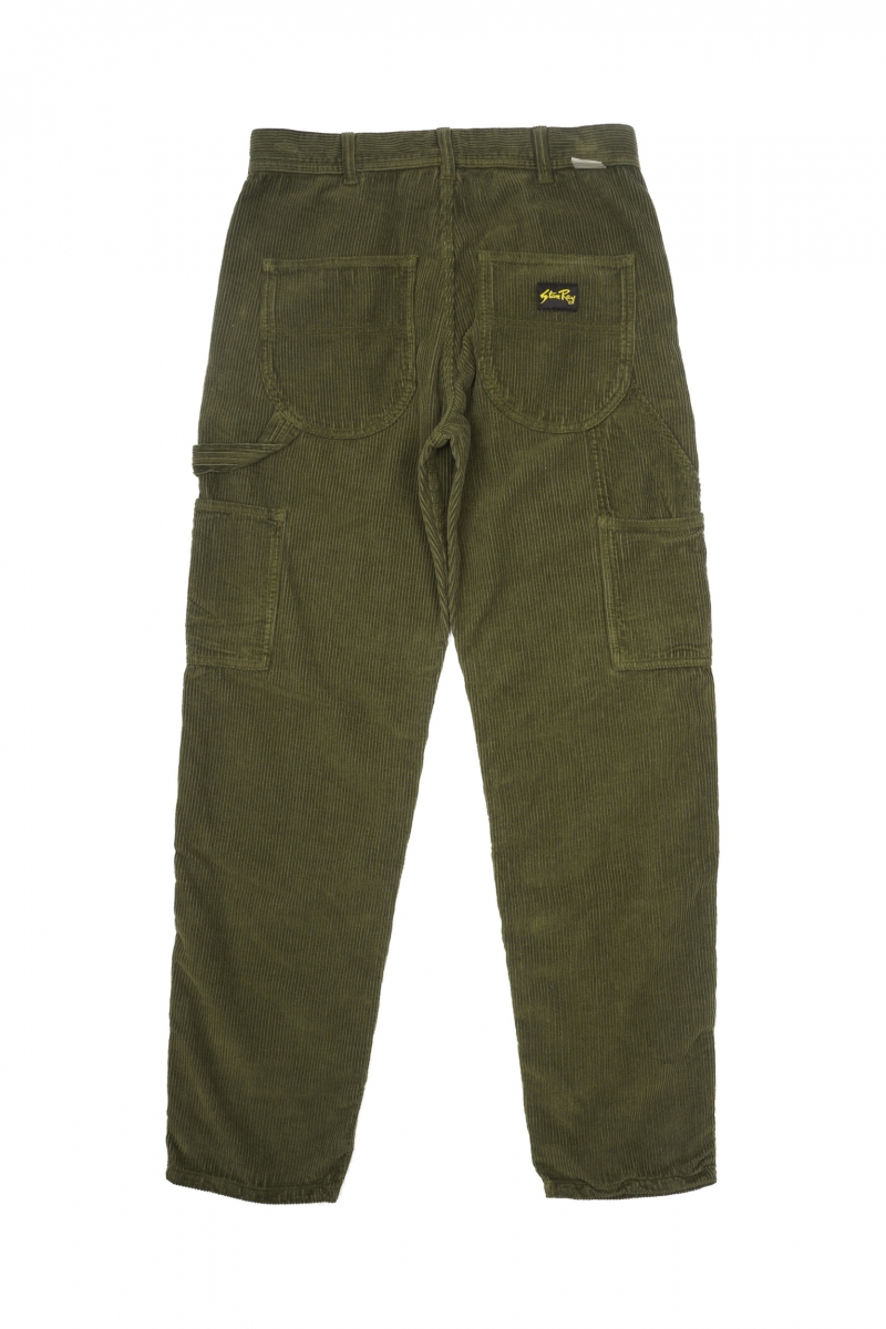 PAINTER PANT 80S   OLIVE CORD