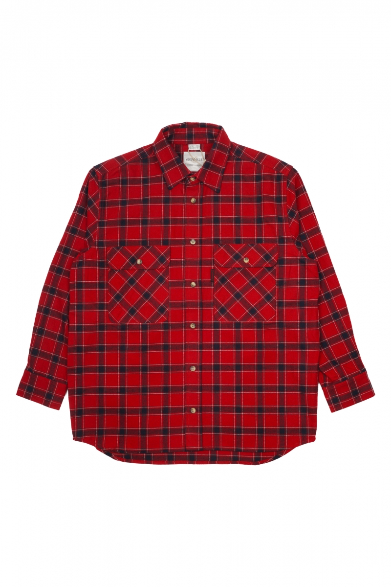 FLANNEL SHIRT | RED