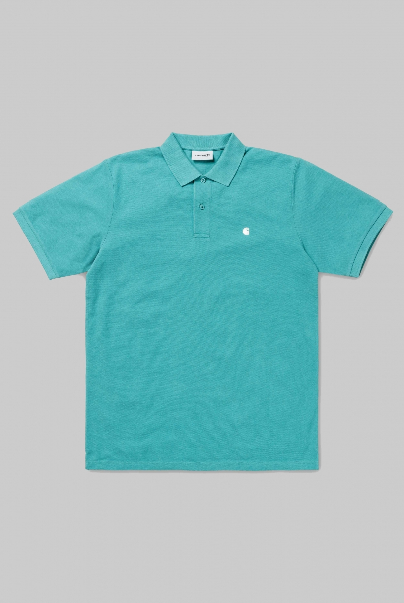 MADISON POLO | SOFT TEAL