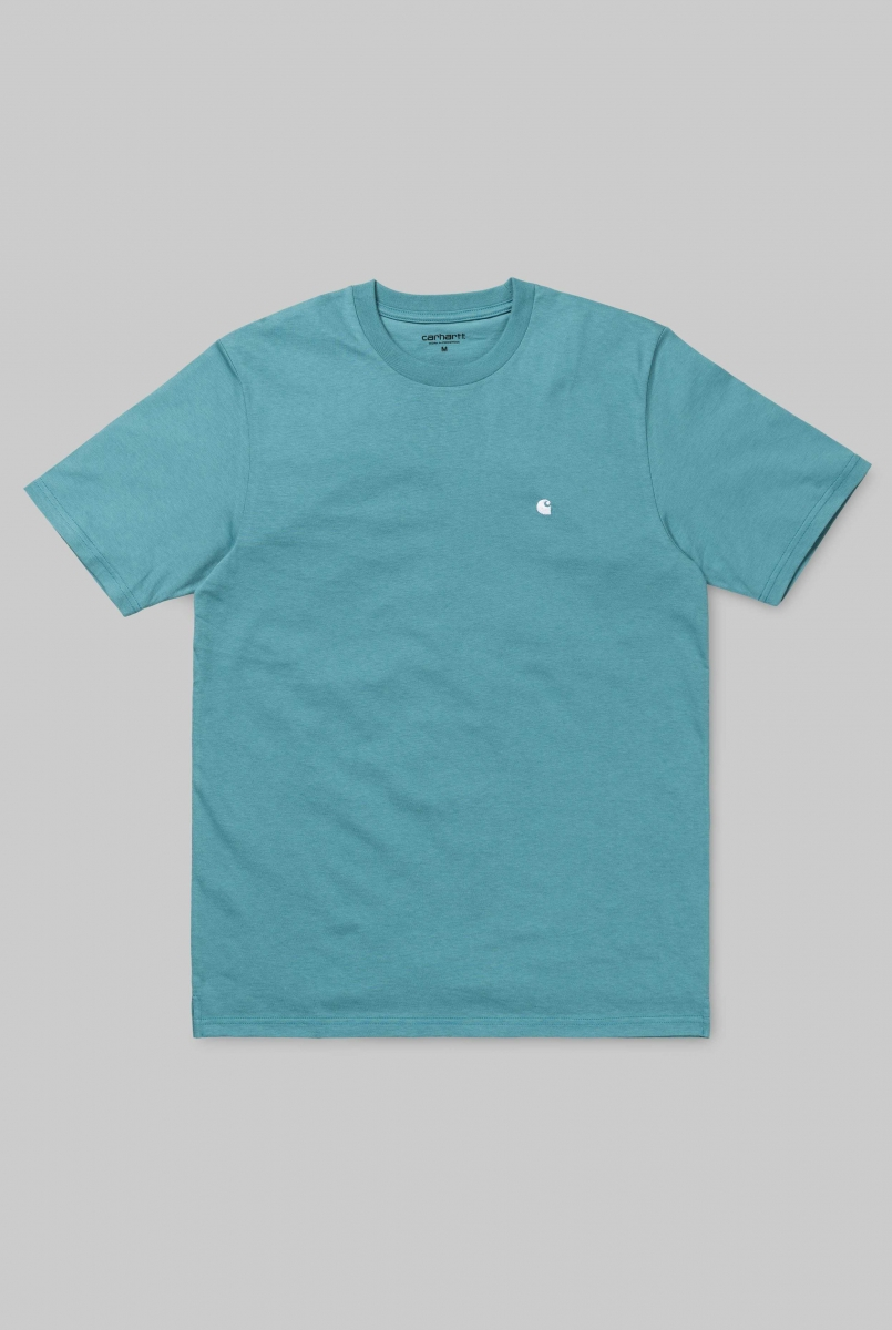 MADISON TEE | SOFT TEAL