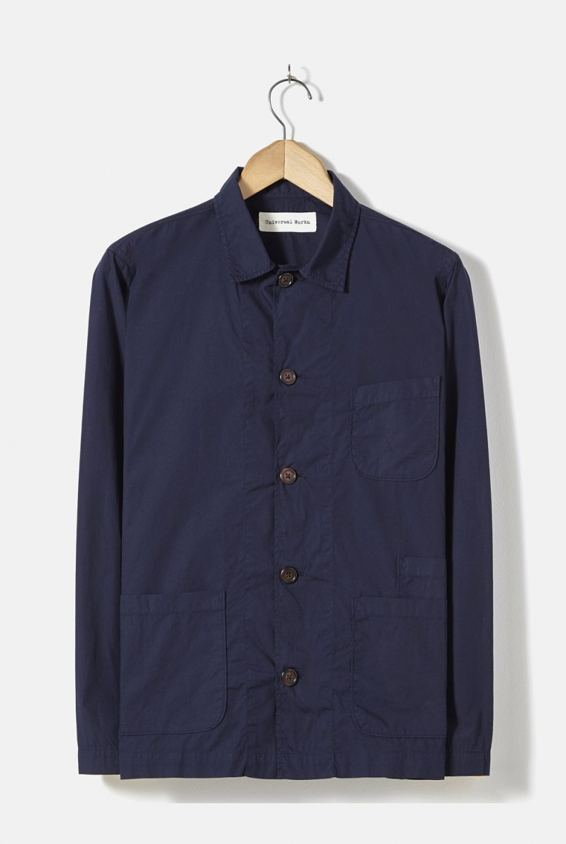 BAKERS OVERSHIRT | NAVY