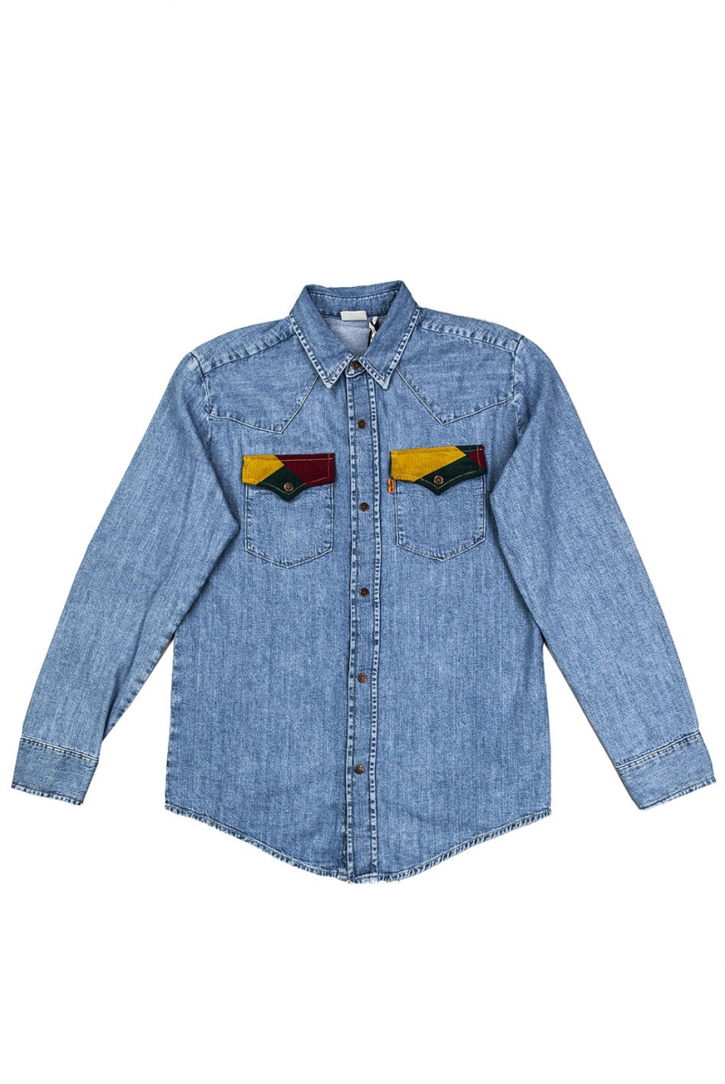 70S DENIM SHIRT | TIPPER TONE