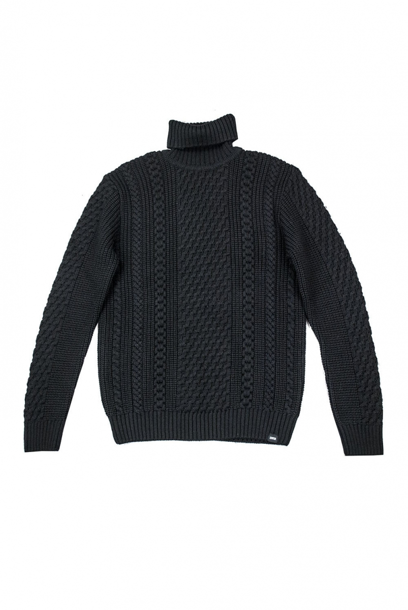 UNITED ROLLNECK | BLACK