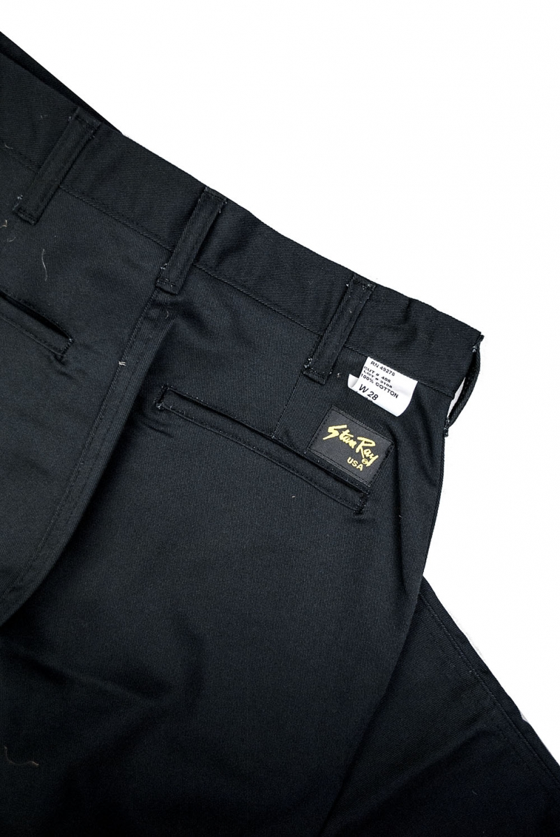 EASY CHINO | BLACK