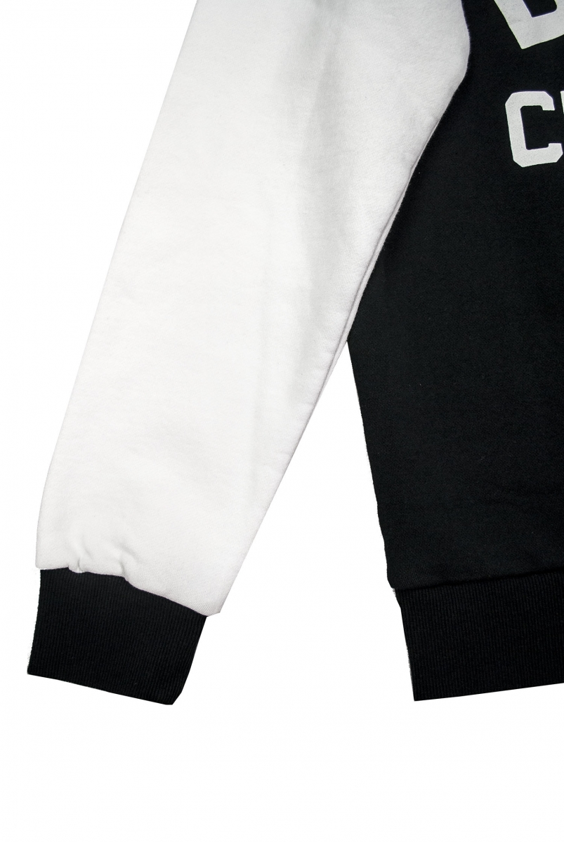 HANDSFORD HALF ZIP | BLACK WHITE