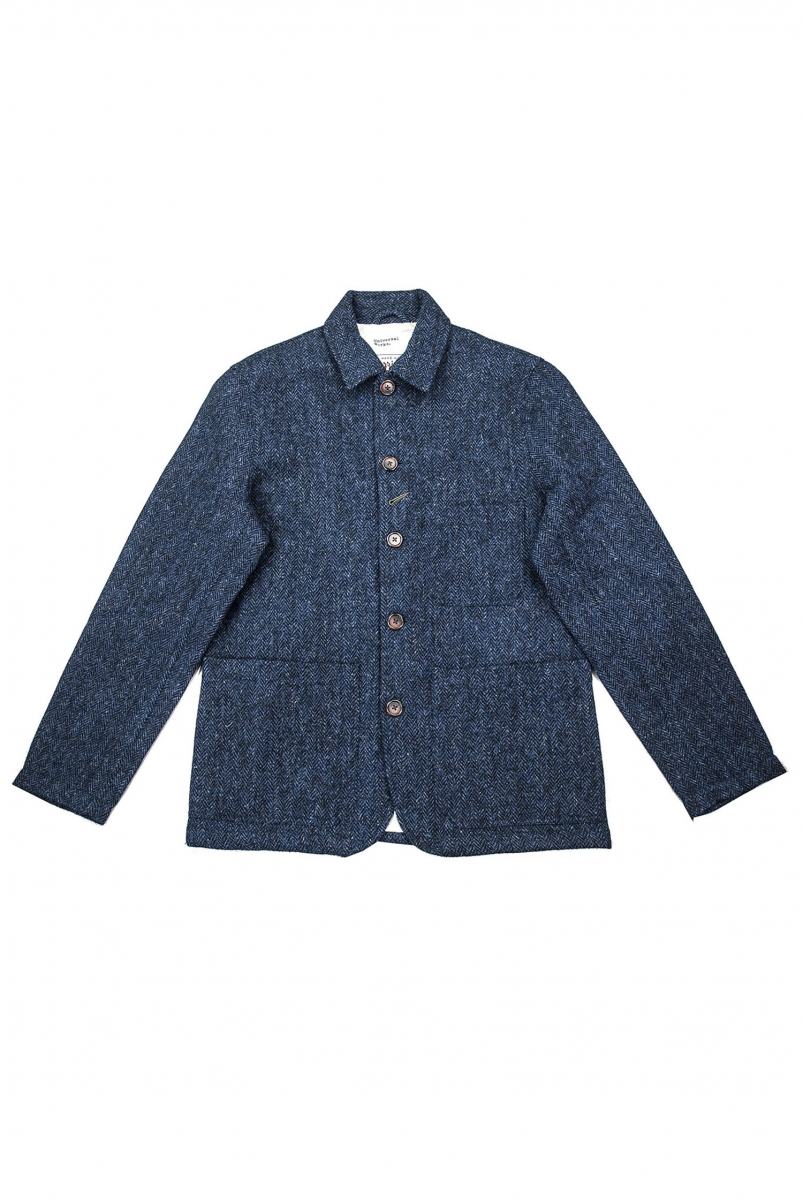 BAKERS HARRIS TWEED | NAVY