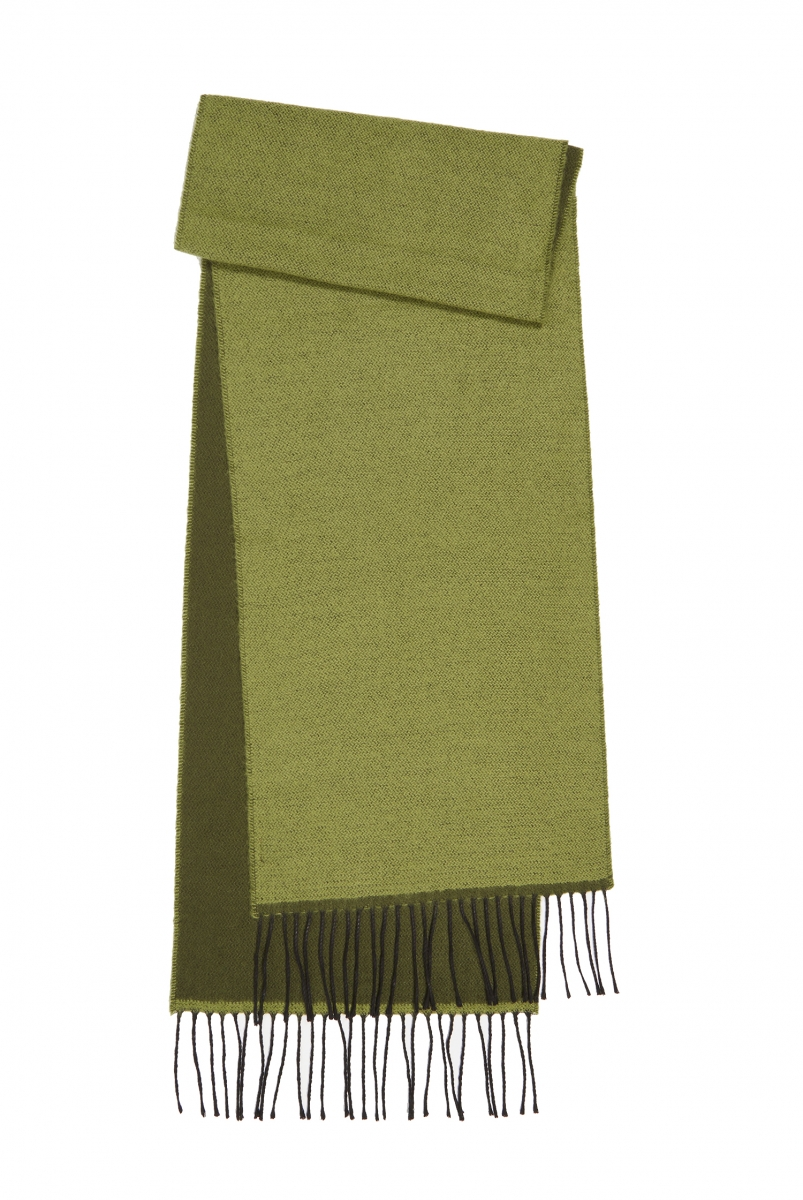 DOUBLE SIDED SCARF | GREEN/OLIVE