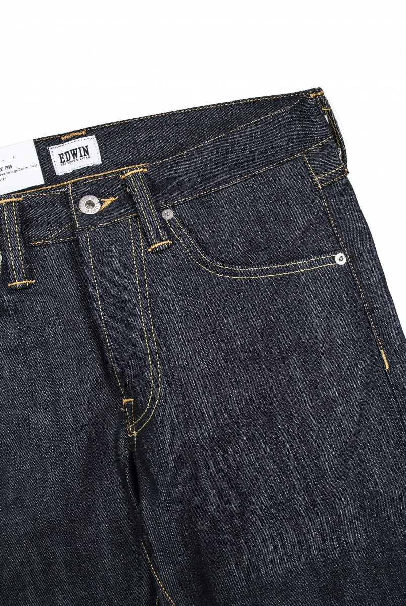 ED-55 RED SELVAGE | UNWASHED