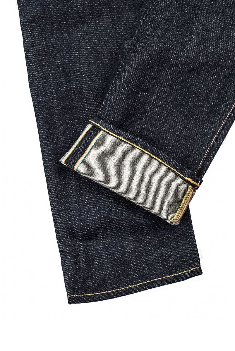 ED-55 RAINBOW SELVAGE | BLUE UNWASHED