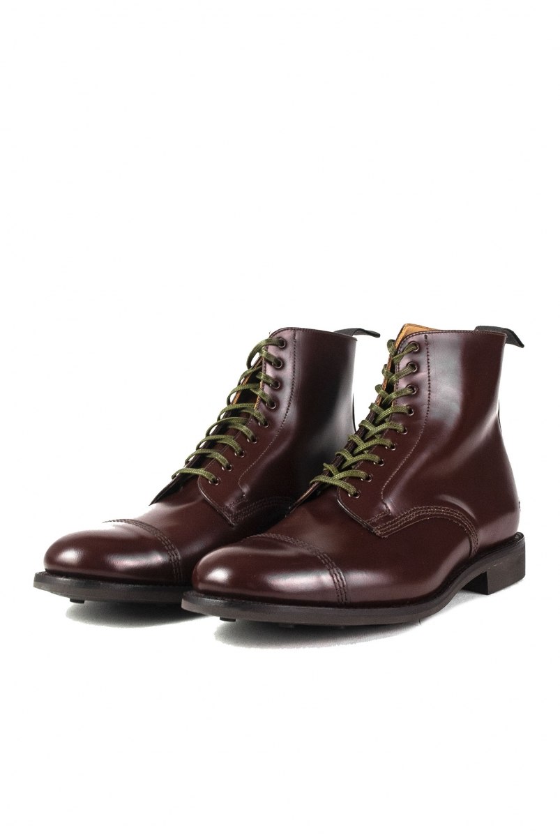 MILITARY DERBY BOOT | BROWN