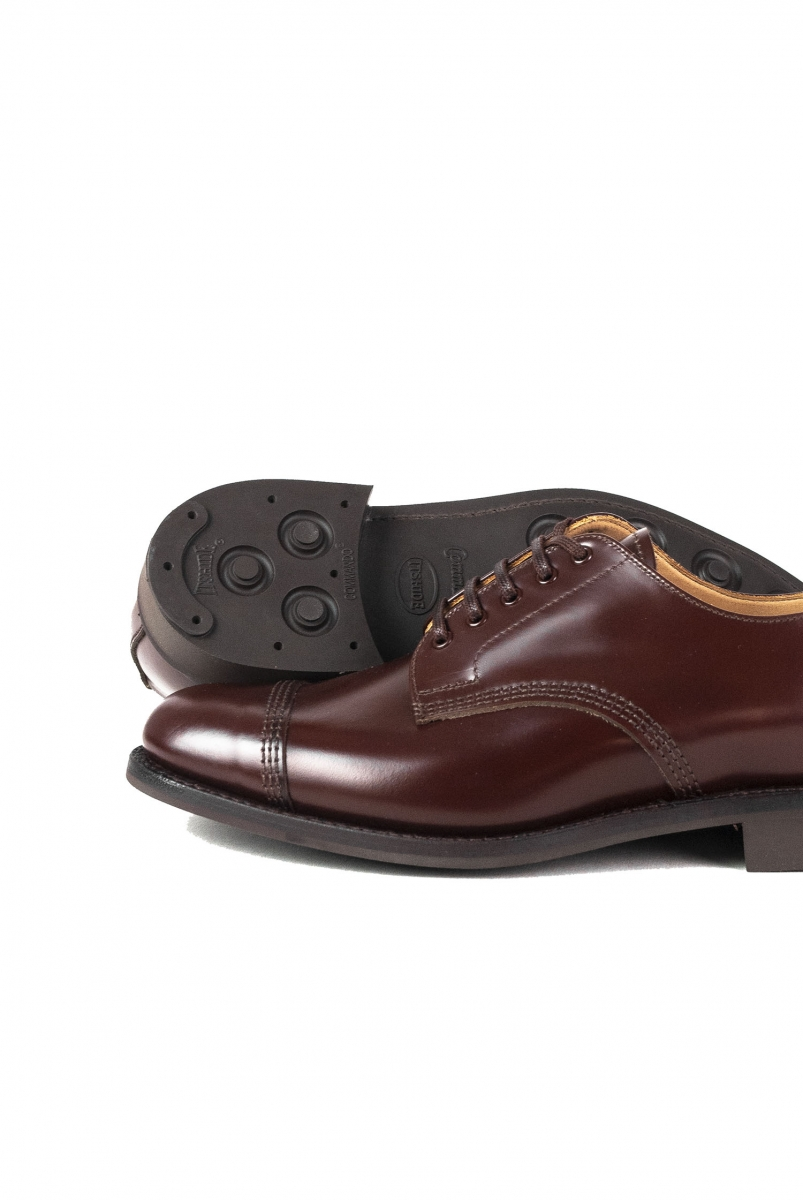 MILITARY DERBY SHOE | BROWN