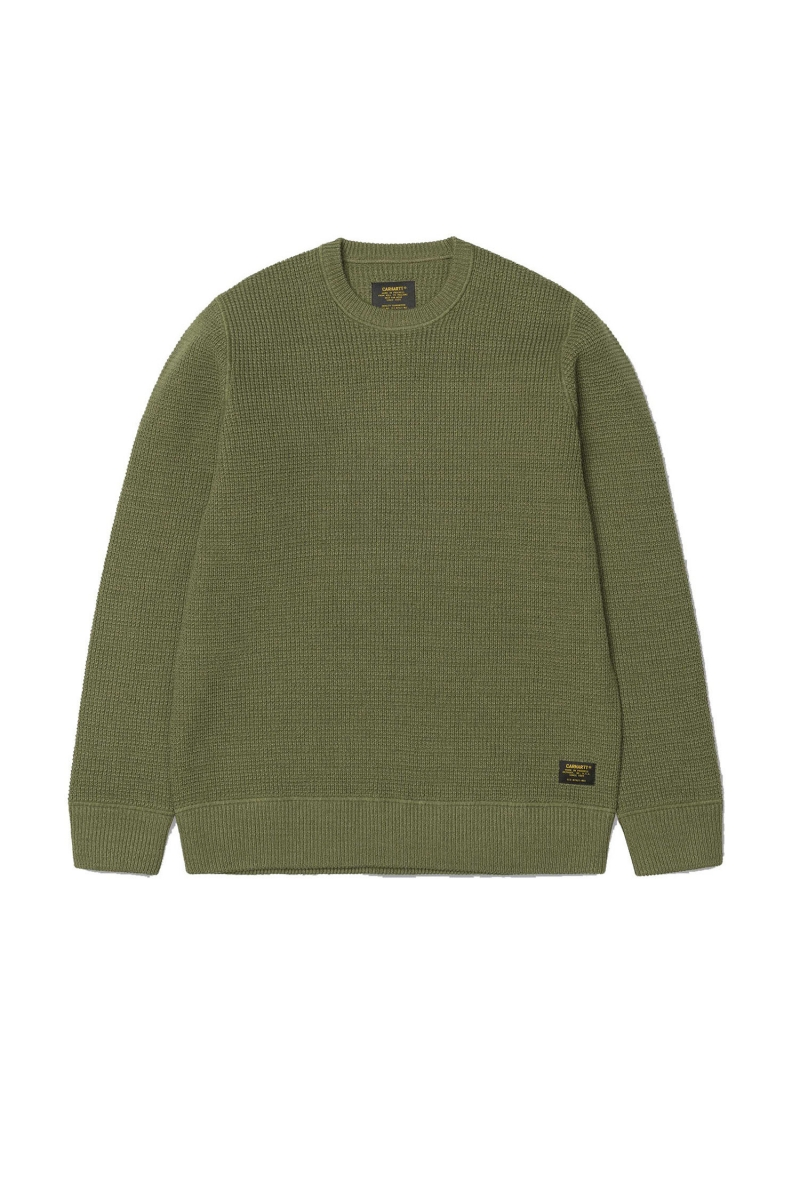 MASON SWEATER | ROVER GREEN