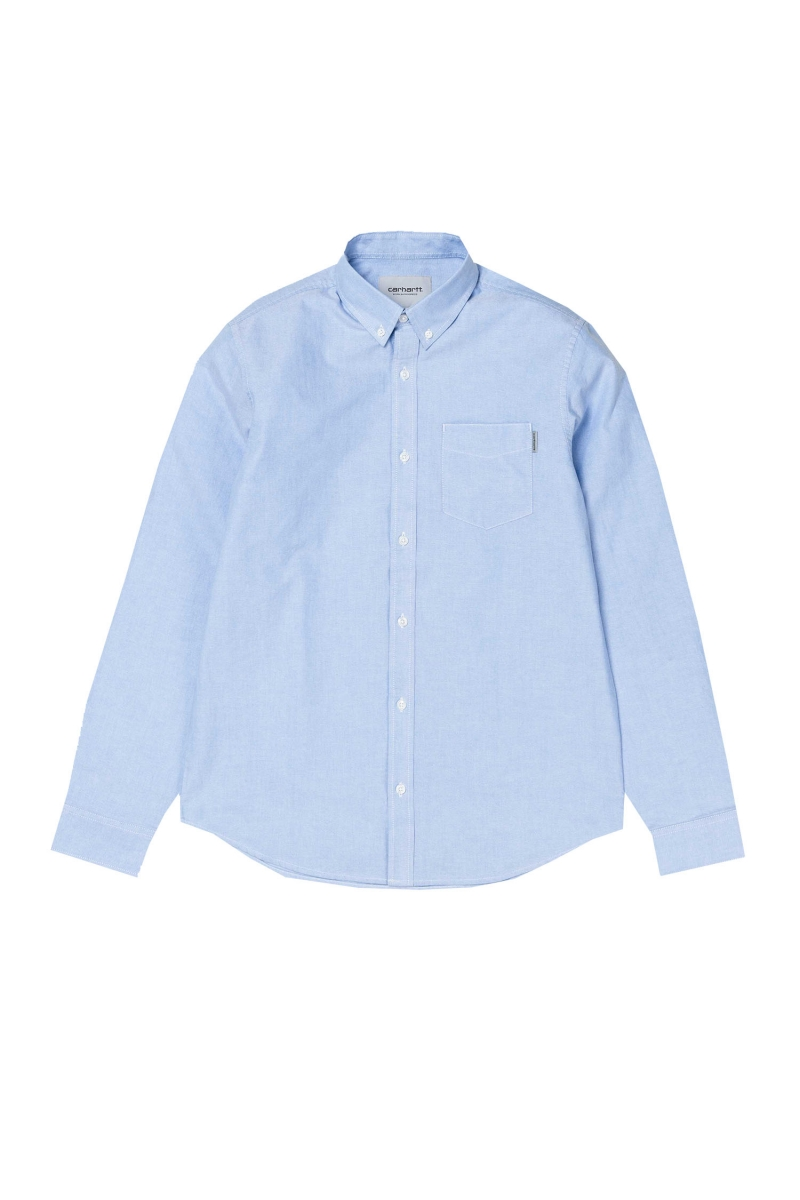 LS BUTTON DOWN | BLEACH