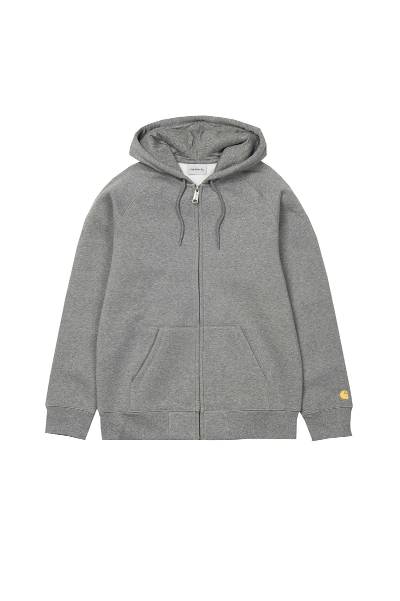 HOODED CHASE JACKET | DARK GREY