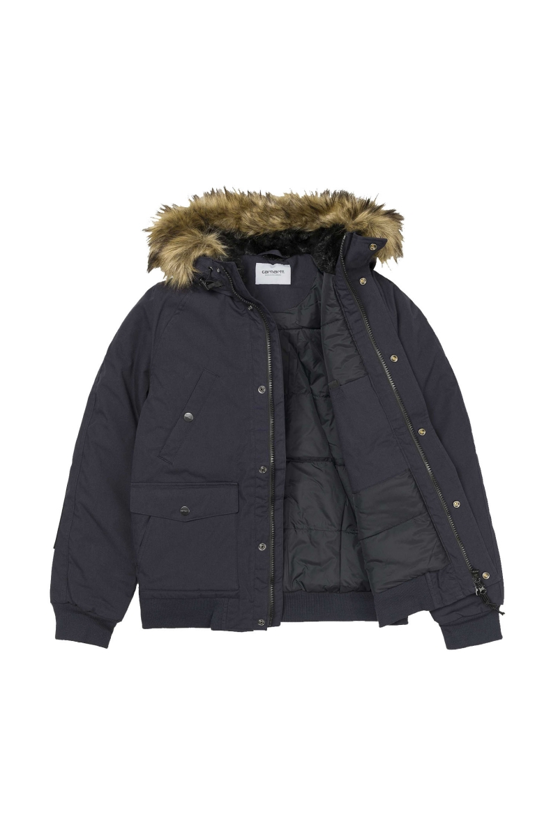 TRAPPER JACKET | DARK NAVY
