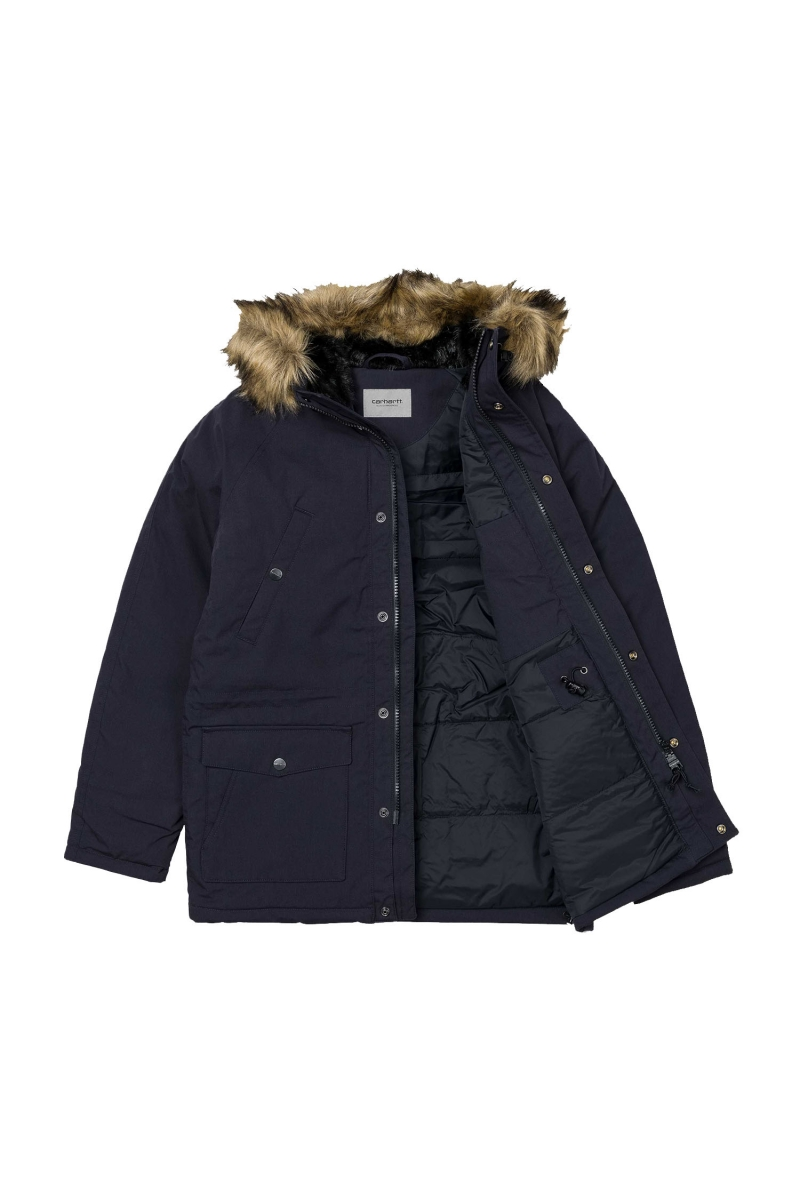 TRAPPER PARKA | DARK NAVY