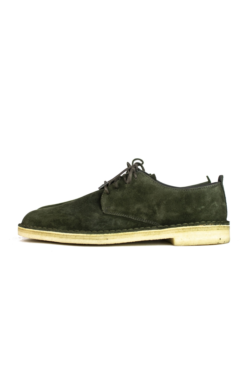 DESERT LONDON | DARK GREEN SUEDE
