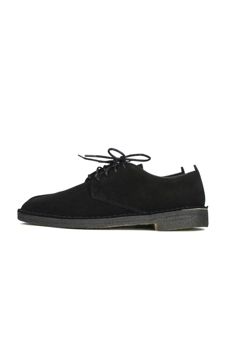 DESERT LONDON | BLACK SUEDE