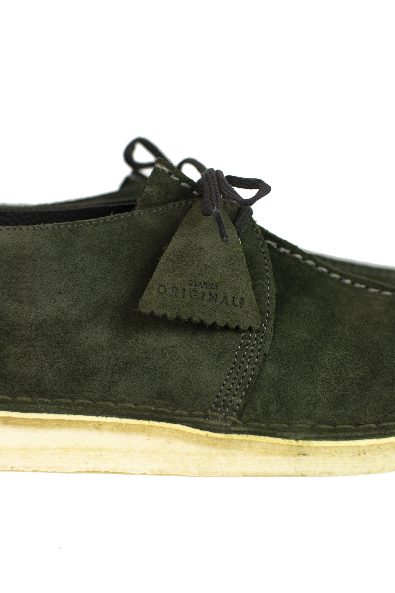 DESERT TREK | DARK GREEN SUEDE