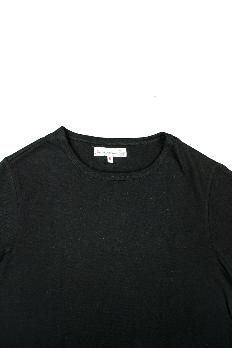 215 CREW NECK | DEEP BLACK