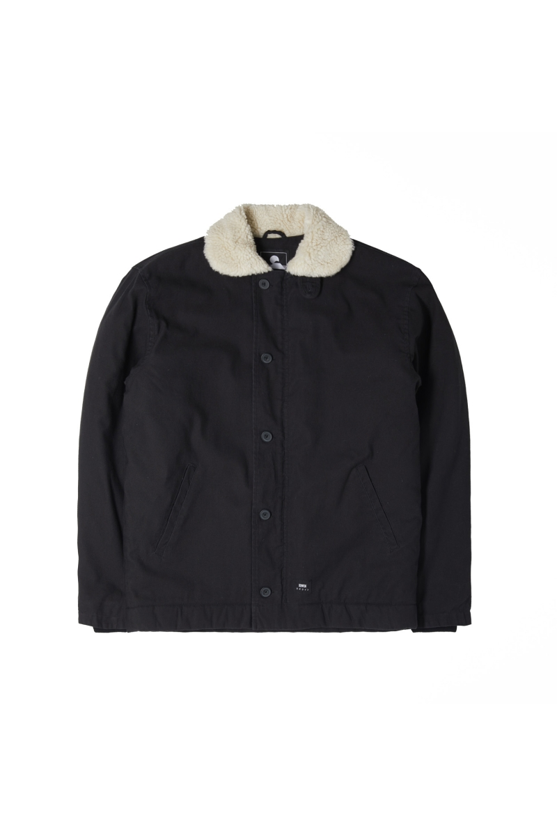 DECK JACKET | BLACK