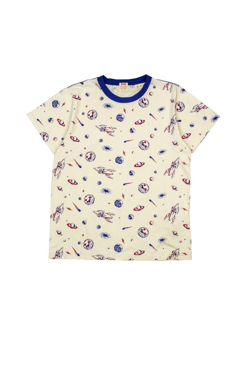 GRAPHIC TEE   SPACED ALL OVER